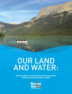 Cover: Our Land and Water